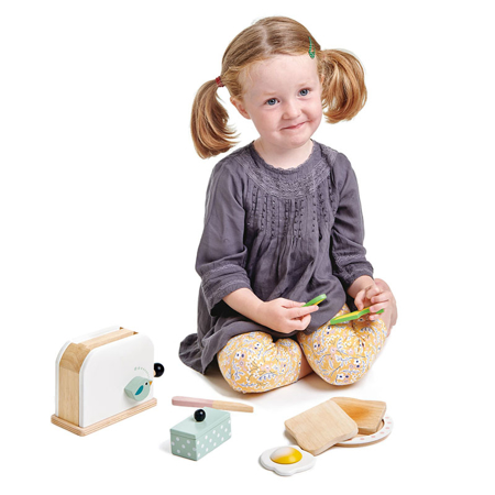 Tender Leaf Toys® Set colazione Breakfast Toaster Set