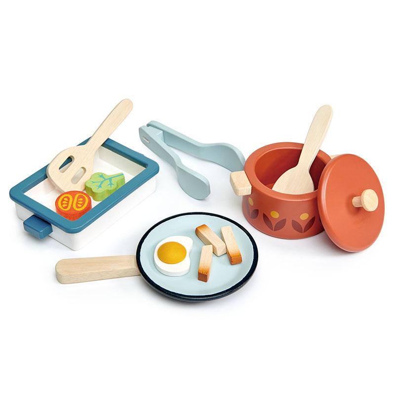 Immagine di Tender Leaf Toys® Piatti e Pentole Pots and Pans