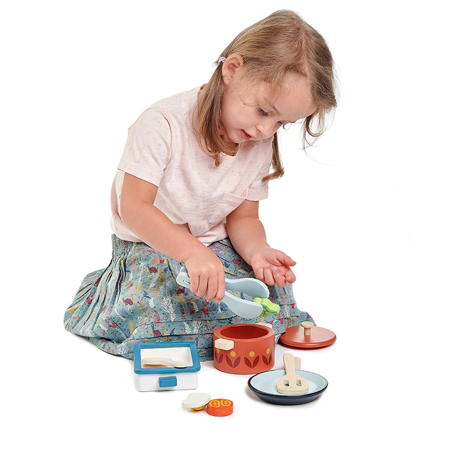 Tender Leaf Toys® Piatti e Pentole Pots and Pans
