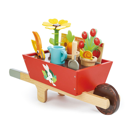 Immagine di Tender Leaf Toys® Carriola Garden Wheelbarrow Set