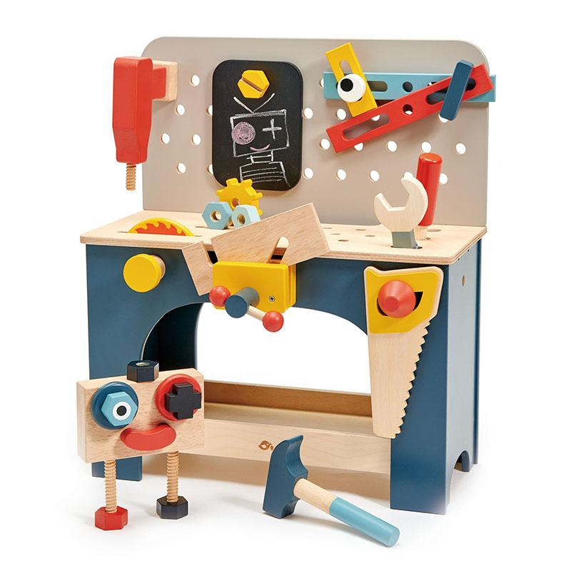 Immagine di Tender Leaf Toys® Banco da lavoro Table Top Tool Bench