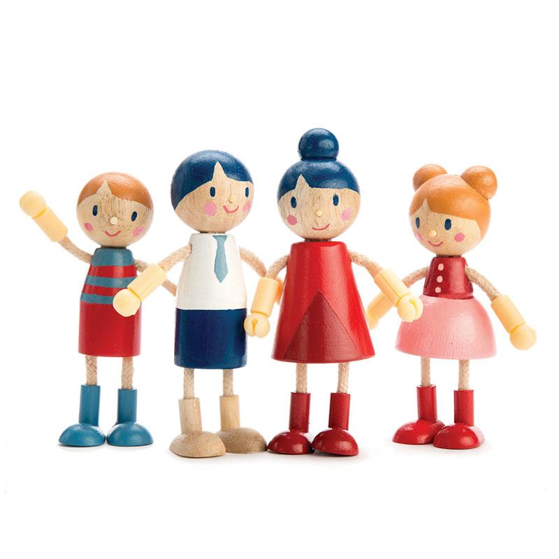 Immagine di Tender Leaf Toys® Famiglia bambole Doll Family