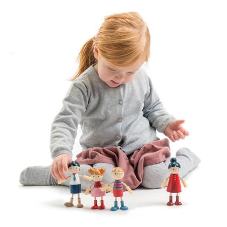 Tender Leaf Toys® Famiglia bambole Doll Family