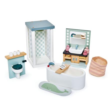 Immagine di Tender Leaf Toys® Bagno per le bambole Dolls House Bathroom Furniture