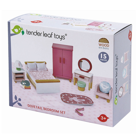 Tender Leaf Toys® Mobili per camera da letto Dolls House Bedroom Furniture