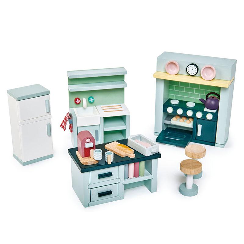Immagine di Tender Leaf Toys® Cucina per le bambole Dolls House Kitchen Furniture