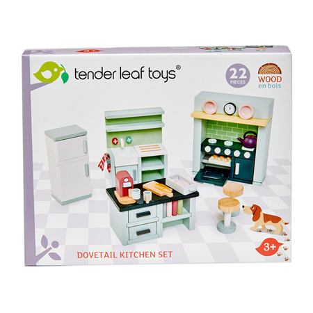 Tender Leaf Toys® Cucina per le bambole Dolls House Kitchen Furniture