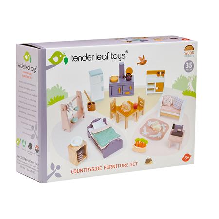 Tender Leaf Toys® Arredi casa delle bambole Countryside Furniture Set