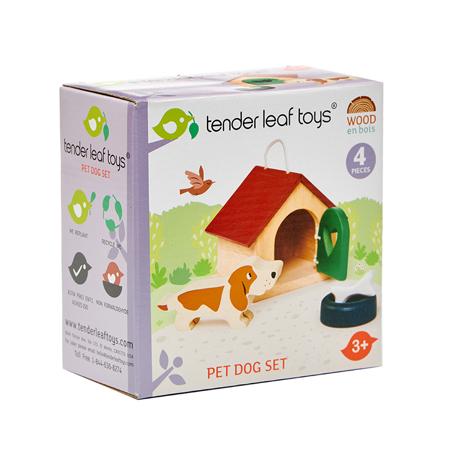 Immagine di Tender Leaf Toys® Cagnolino Pet Dog Set