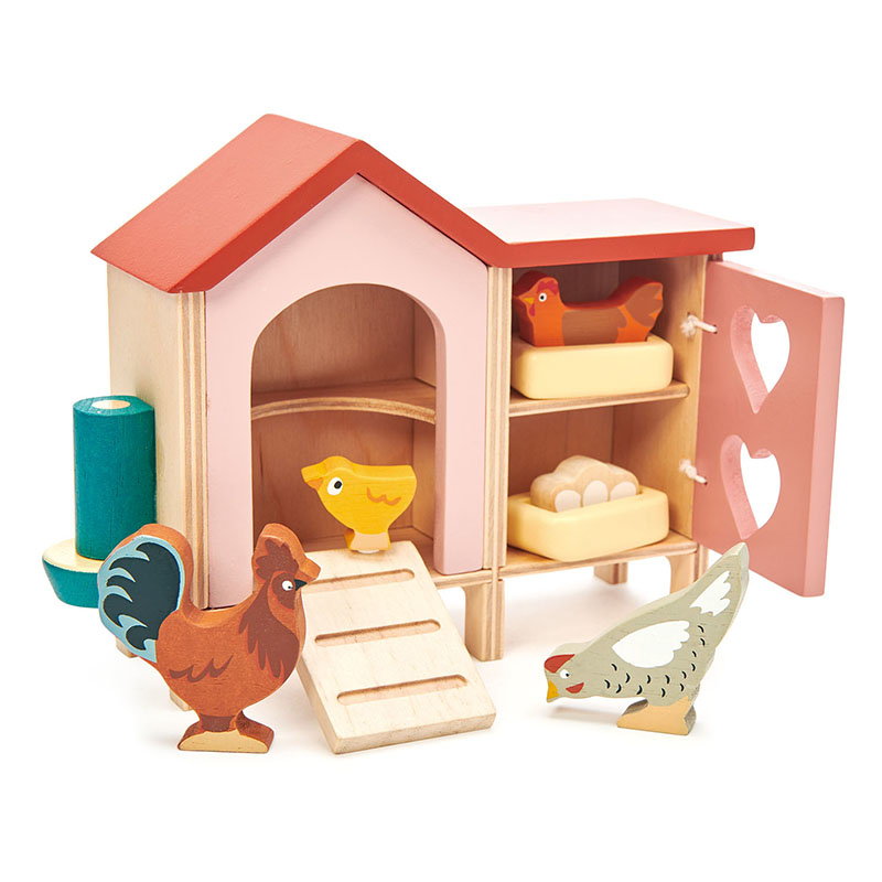 Immagine di Tender Leaf Toys® Pollaio Chicken Coop