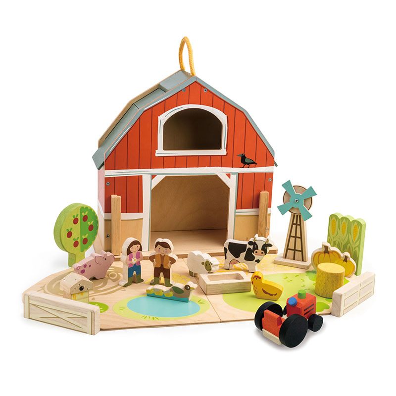 Immagine di Tender Leaf Toys® Set Fattoria Little Barn