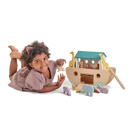 Immagine di Tender Leaf Toys® Arca di Noe Noah's Wooden Ark