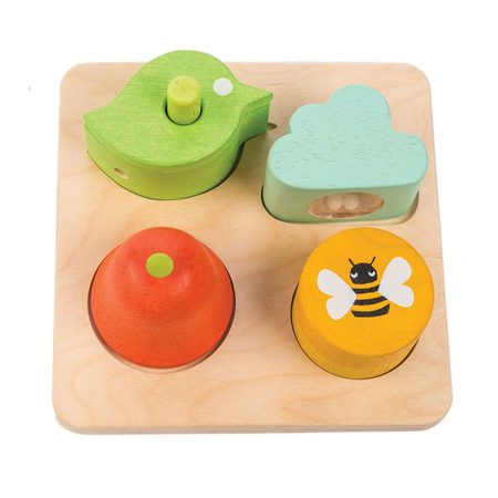 Immagine di Tender Leaf Toys® Gioco di attività per l'udito Audio Sensory Tray