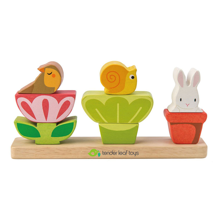 Immagine di Tender Leaf Toys® Gioco di attività Giardino Garden Stacker