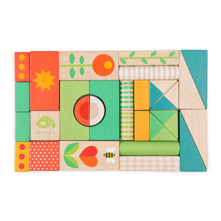 Immagine di Tender Leaf Toys® Carrello delle attività Baby Block Walker