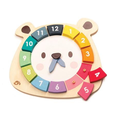Immagine di Tender Leaf Toys® Gioco dell'orologio Bear Colors Clock