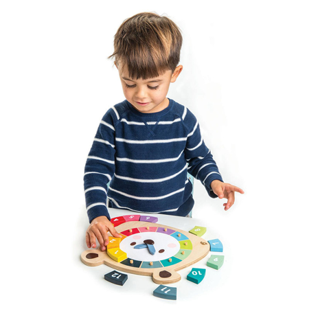 Tender Leaf Toys® Gioco dell'orologio Bear Colors Clock