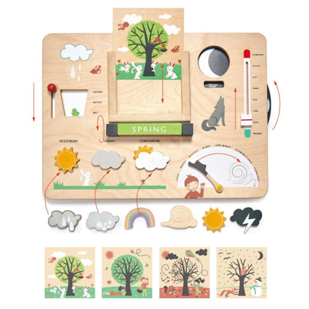 Tender Leaf Toys® Gioco di attività Tempo metereologico Weather Watch