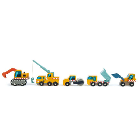 Tender Leaf Toys® Veicoli da cantiere Construction Site