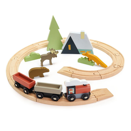 Immagine di Tender Leaf Toys® Ferrovia Treetops Train Set