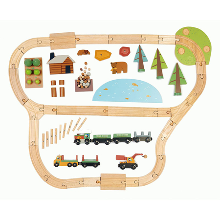 Immagine di Tender Leaf Toys® Ferrovia Wild Pines Train Set