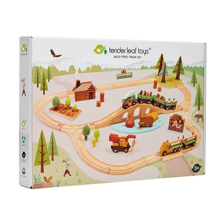 Immagine di Tender Leaf Toys® Ferrovia Wild Pines Train Set