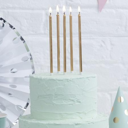 Immagine di Ginger Ray® Candele torta alte Ombre 24 pz.