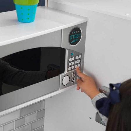 Immagine di KidKraft® Grande cucina da gioco con luci e suoni White