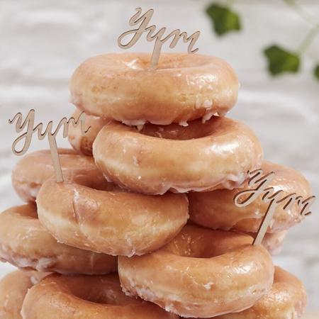 Immagine di Ginger Ray® Leseni okraski za slaščice Yum 6 kosov