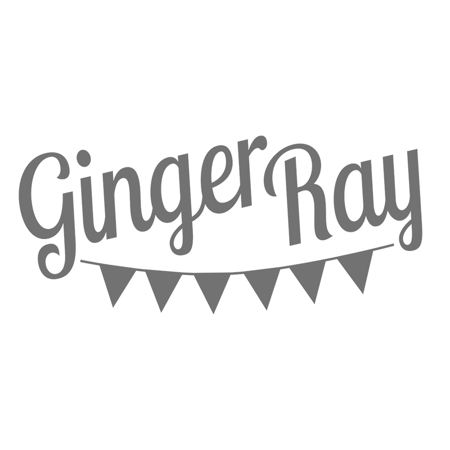 Immagine di Ginger Ray® Palloncini con nappine Blush White & Rose Gold
