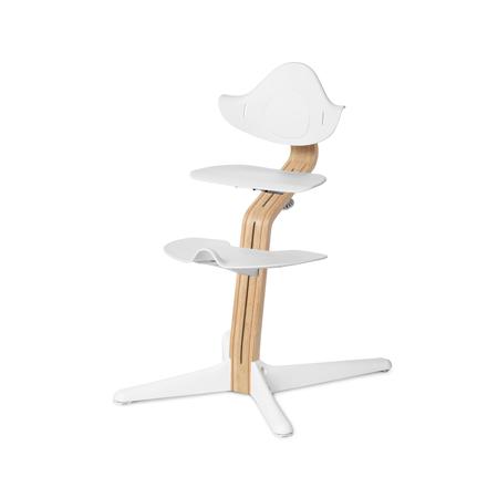 Immagine di Nomi® Otroški stolček za hranjenje White/Oak