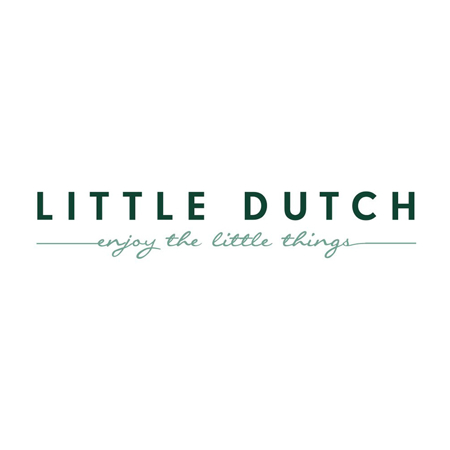 Immagine di Little Dutch® Bavaglino in cotone Pure Grey