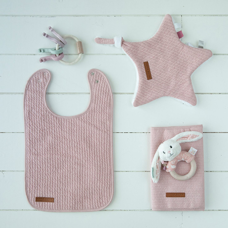 Little Dutch® Bavaglino in cotone Pure Pink