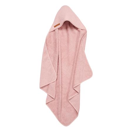 Immagine di Little Dutch® Asciugamano con cappuccio Pure Pink 75x75