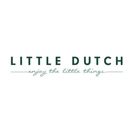 Immagine di Little Dutch® Asciugamano con cappuccio Pure Grey 75x75