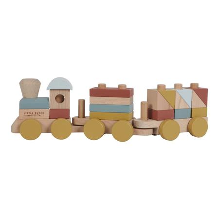 Immagine di Little Dutch® Treno in legno Pure & Nature