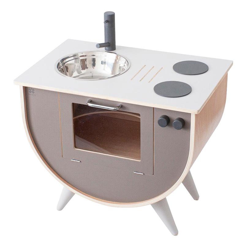 Immagine di Sebra® Cucina per bambini vintage Warm Grey