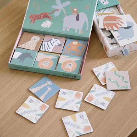 Sebra® Puzzle Wildlife 1-10