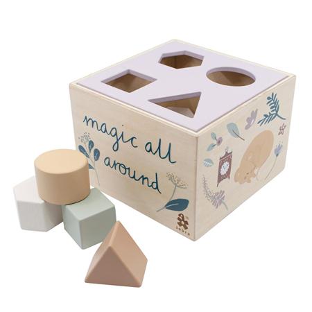 Immagine di Sebra®  Cubo in legno per selezione forme Daydream