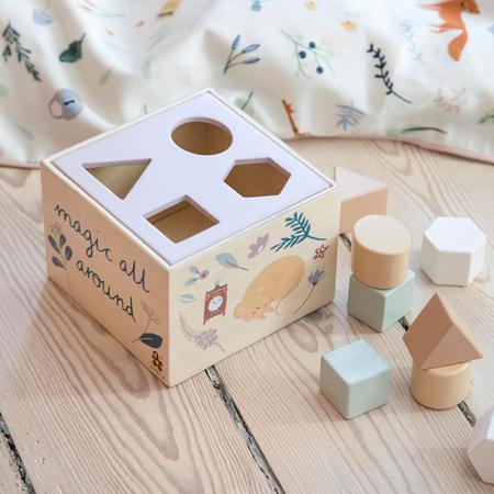 Sebra®  Cubo in legno per selezione forme Daydream