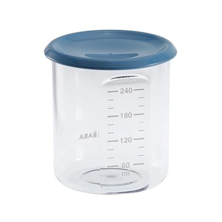Beaba® Barattolo con misura Blue 240ml
