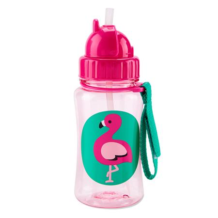 Immagine di Skip Hop® Borraccia con cannuccia Flamingo