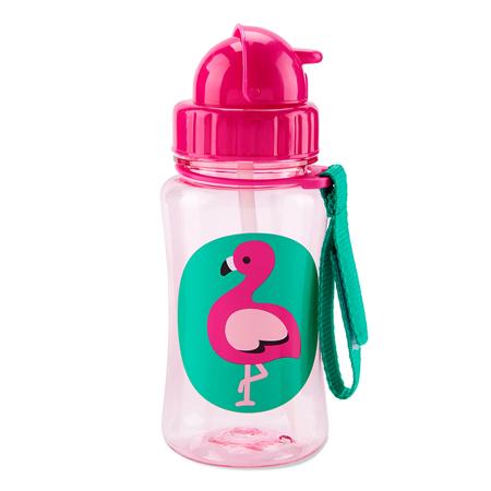 Skip Hop® Borraccia con cannuccia Flamingo