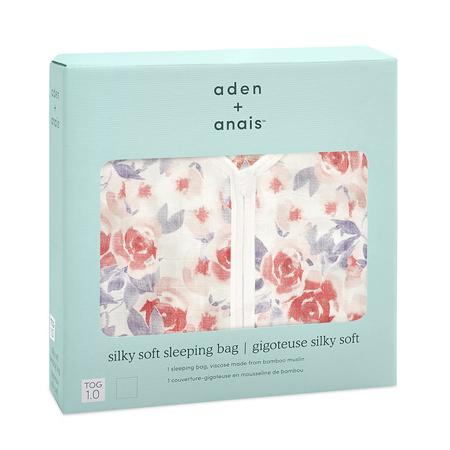 Aden+Anais®  Sacco nanna in bambù (Tog 1.0) - Watercolour Garden