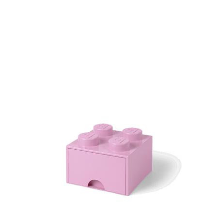 Lego® Contenitore con 4 Cassetti Light Purple