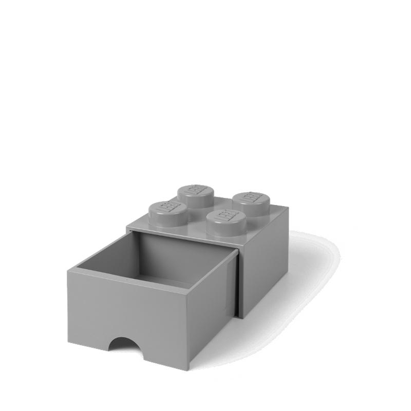 Immagine di Lego® Contenitore Cassetto Medium Stone Grey