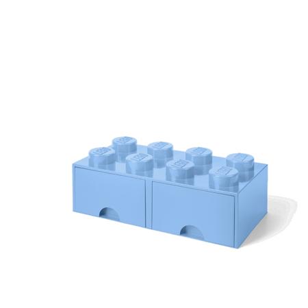 Immagine di Lego® Contenitore con 8 Cassetti Light Royal Blue