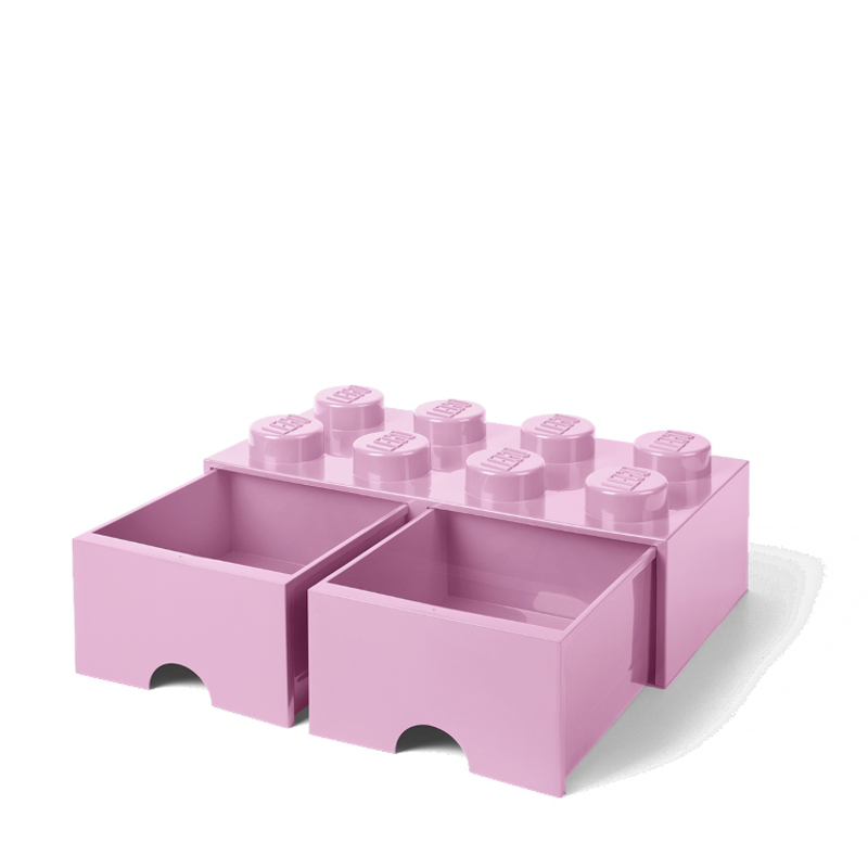 Immagine di Lego® Contenitore con 8 Cassetti Light Purple