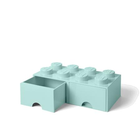 Immagine di Lego® Contenitore con 8 Cassetti Aqua