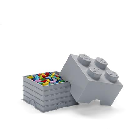 Immagine di Lego® Contenitore 4 Medium Stone Grey
